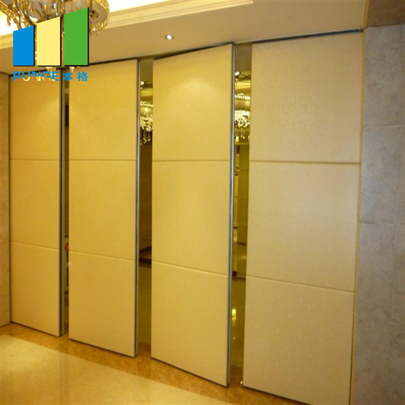 EBUNGE-Banquet Hall Gypsum Board Wood Wall Partitions Removable Sliding Partition Walls