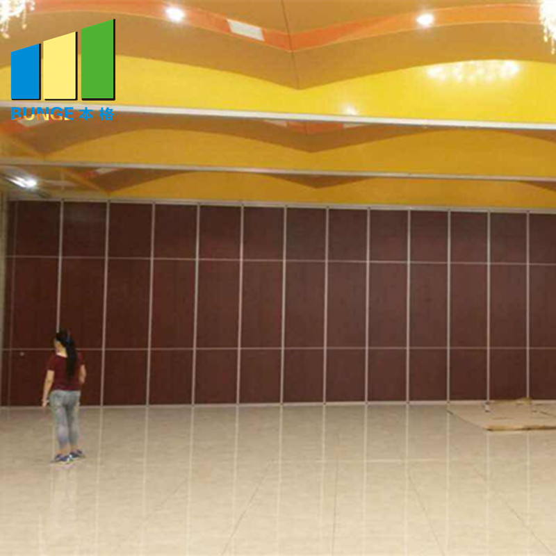 Bunge-Acoustic Partition Wall | Banquet Hall Gypsum Board Wood Wall Partitions-7