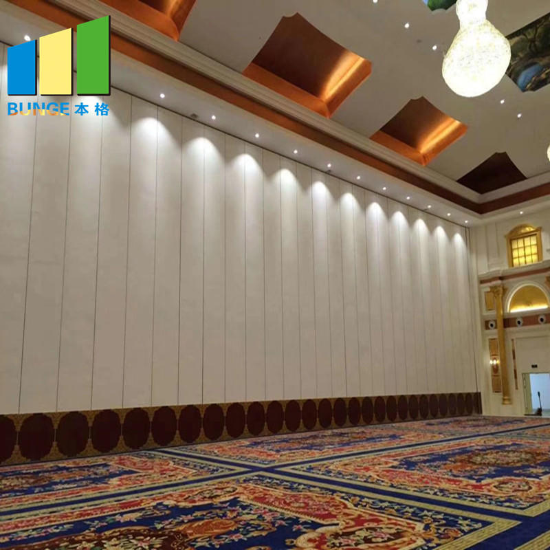 Hotel Operable Sound Proof Partition Walls Cost for Banquet Hall