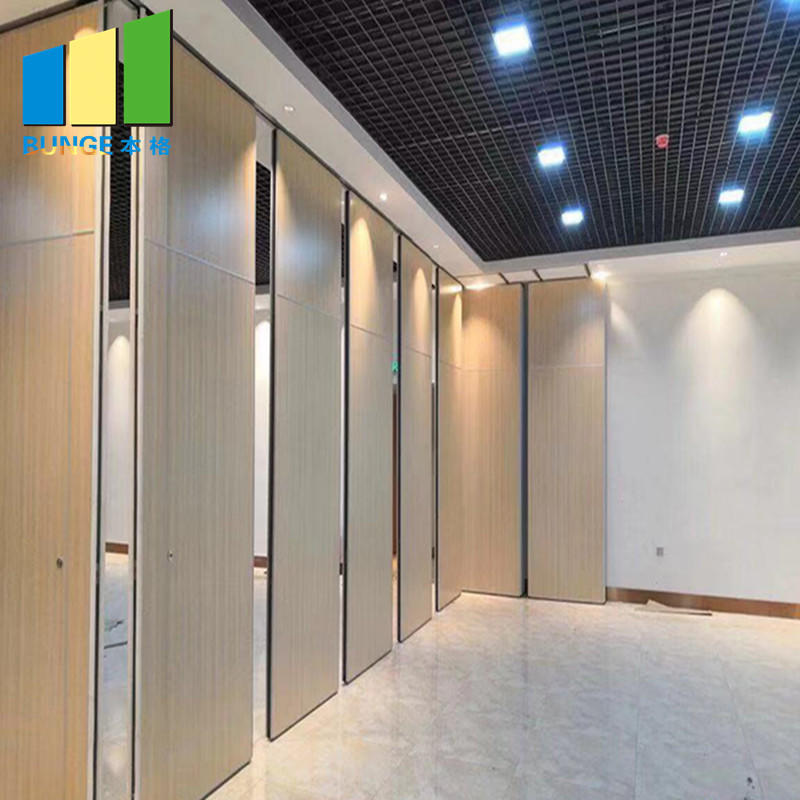 product-Meeting Room Fire Resistant Movable Acoustic Sliding Partition Walls-EBUNGE-img-1