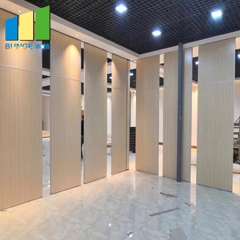 product-EBUNGE-Meeting Room Fire Resistant Movable Acoustic Sliding Partition Walls-img