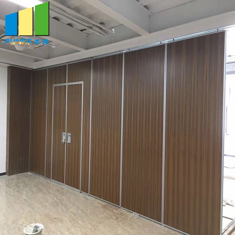 Bunge-Movable Room Dividers, Meeting Room Fire Resistant Movable Acoustic Sliding-4