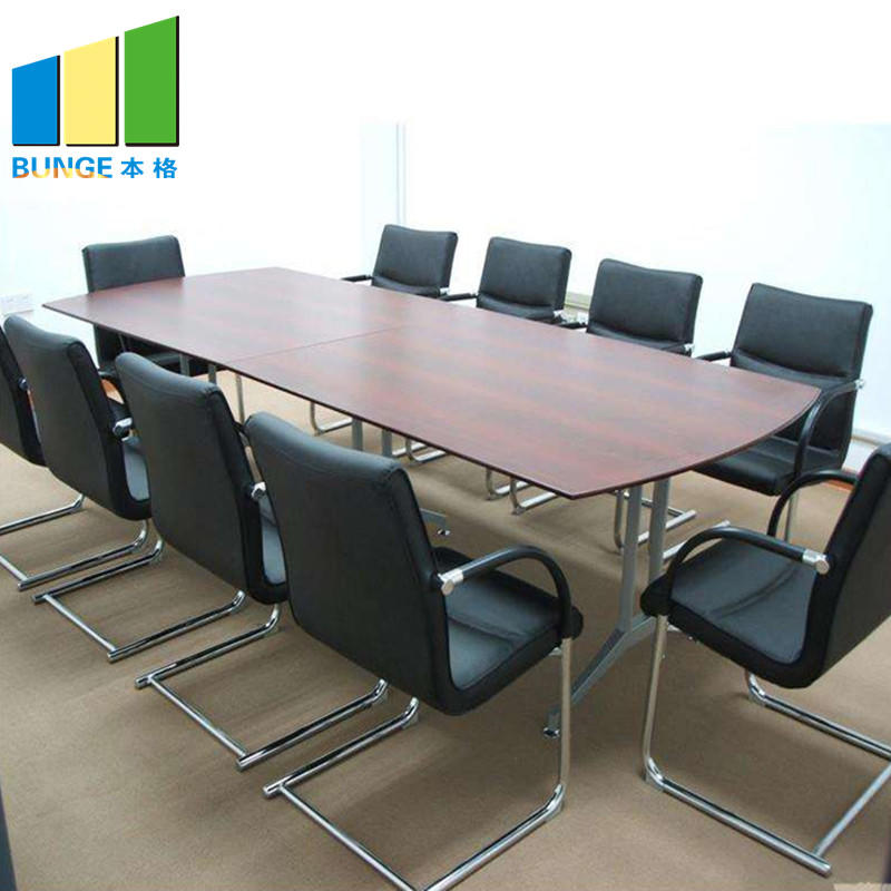 Office Furniture Adjustable Contemporary Conference Tables Chairs with Wheels-EBUNGE
