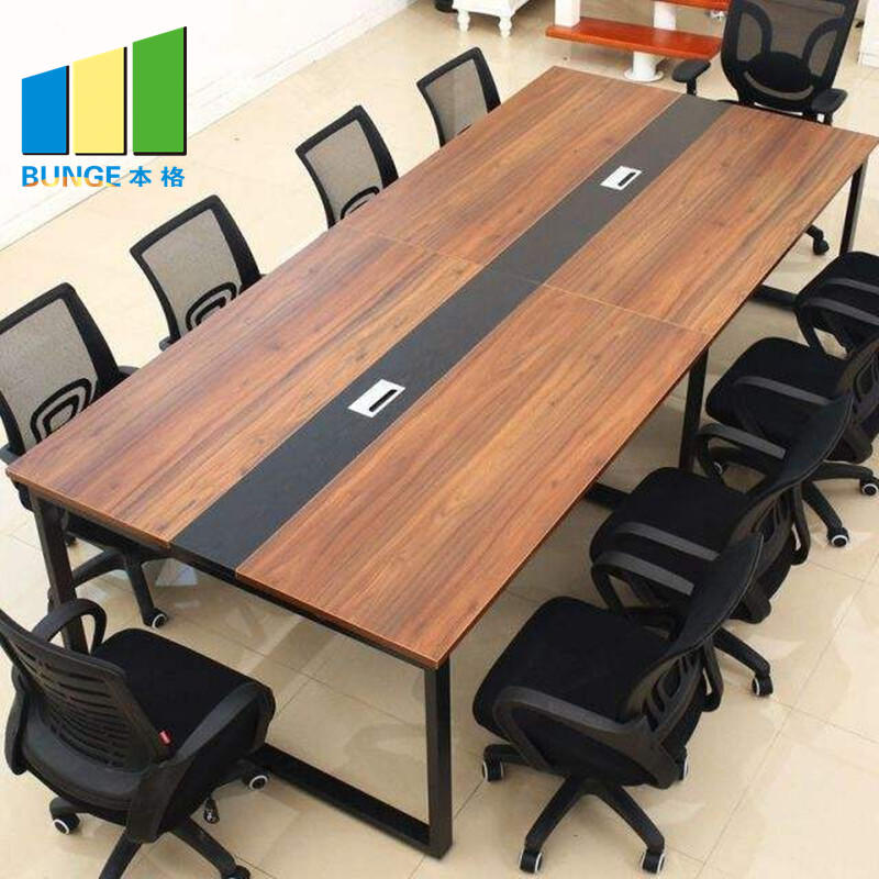 Office Furniture Adjustable Contemporary Conference Tables Chairs with Wheels