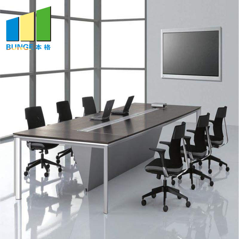 product-EBUNGE-Wooden Office Furniture Board MFC Small Conference Meeting Room Tables-img