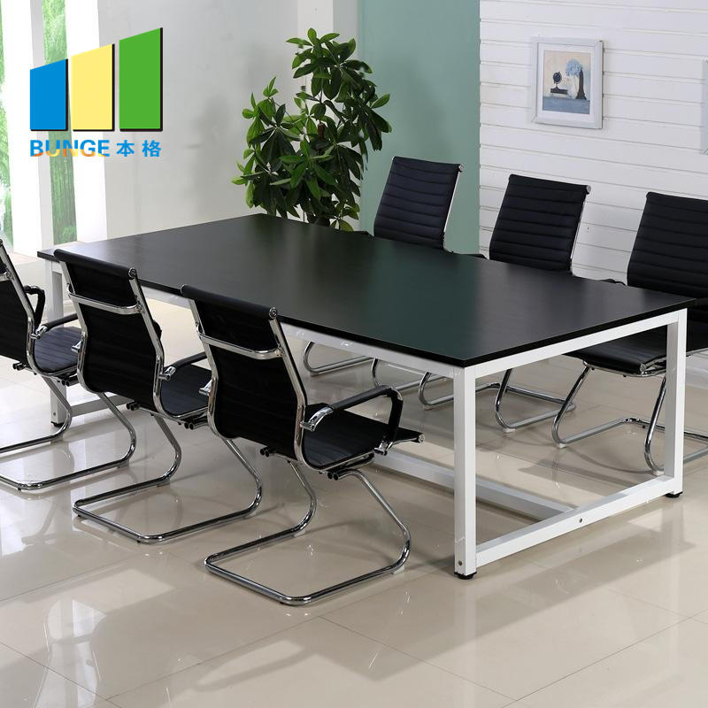 Wooden Office Furniture Board MFC Small Conference Meeting Room Tables