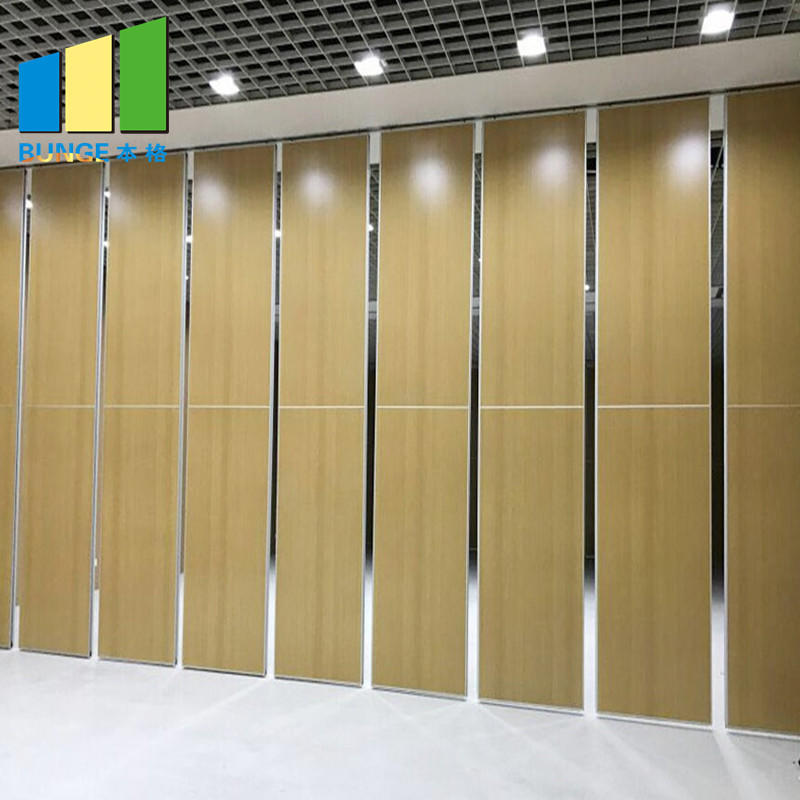 Movable Soundproof Acoustic Modular Office Workstation Folding Wall Partition