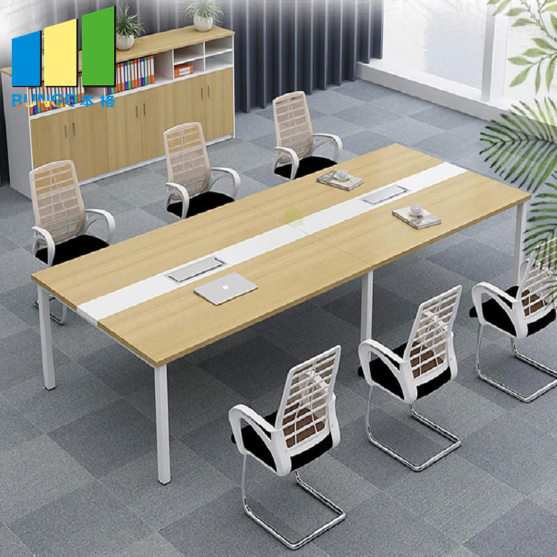 Simple Modern Office Furniture Conference Room Table Desks Long Meeting Tables