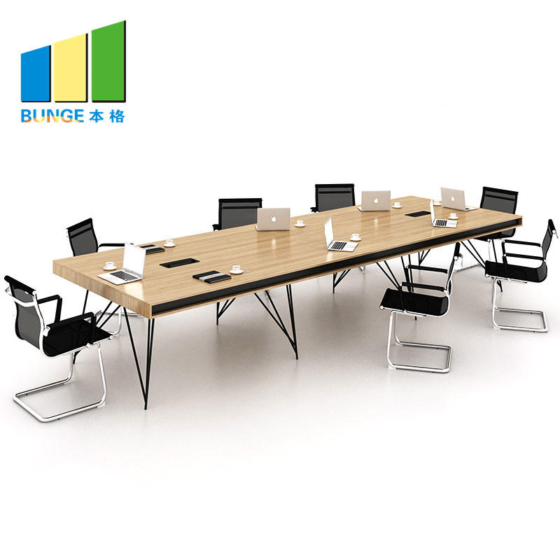Modern Specification Office Furniture Melamine Board Conference Room Tables
