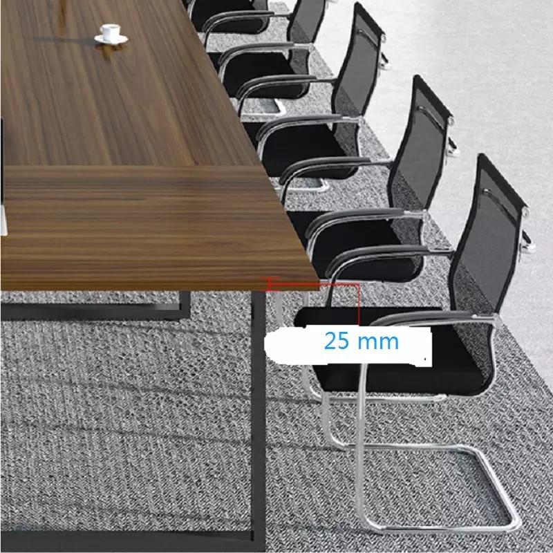 melamine office conference table factory for boardroom