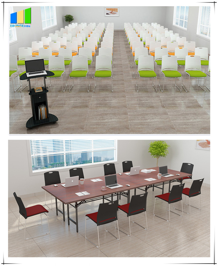 product-EBUNGE-Folding Chairs Conference Room Table PP Frame Office Plastic Stackable Chair-img-56