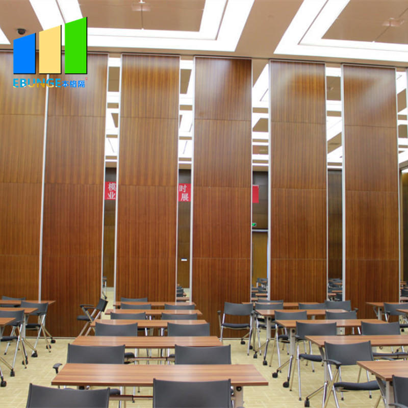 Auditorium Soundproof Operable Wall Sliding Folding Hotel Partition Wall