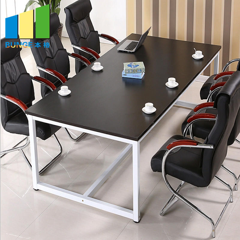 product-Meeting Room Furniture Steel Structure Office Executive Wooden Melamine Conference Tables an-1