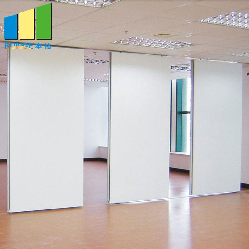 Melamine Finish Movable Operable Sound Proof Partitions for Auditorium / Office