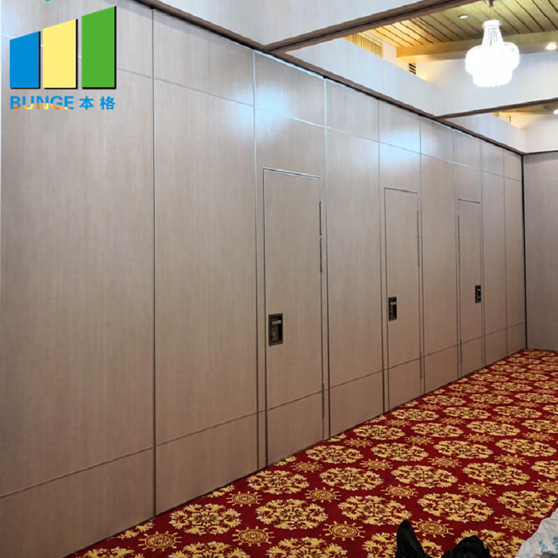 product-EBUNGE-Multi Color Hotel Acoustic Movable Sound Proof Operable Walls Restaurant Partition W
