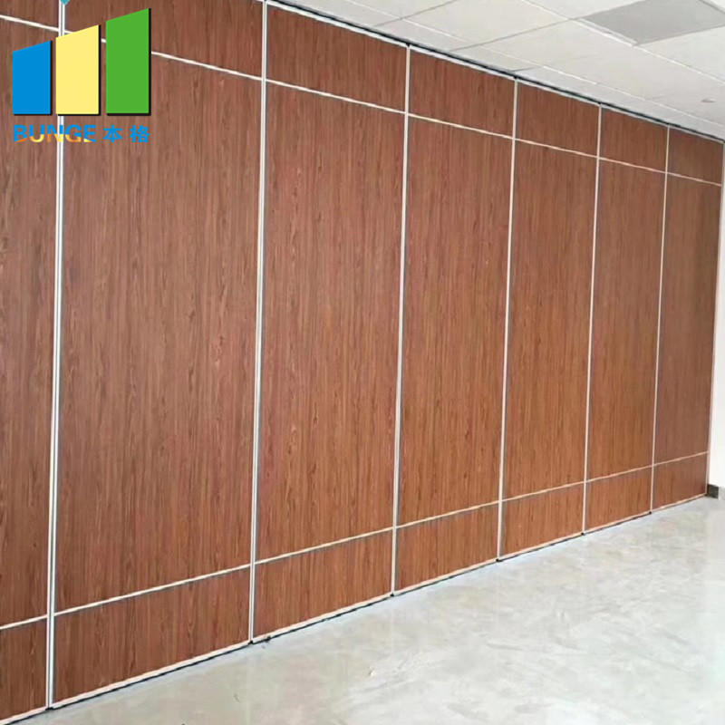 Multi Color Hotel Acoustic Movable Sound Proof Operable Walls / Restaurant Partition Wall