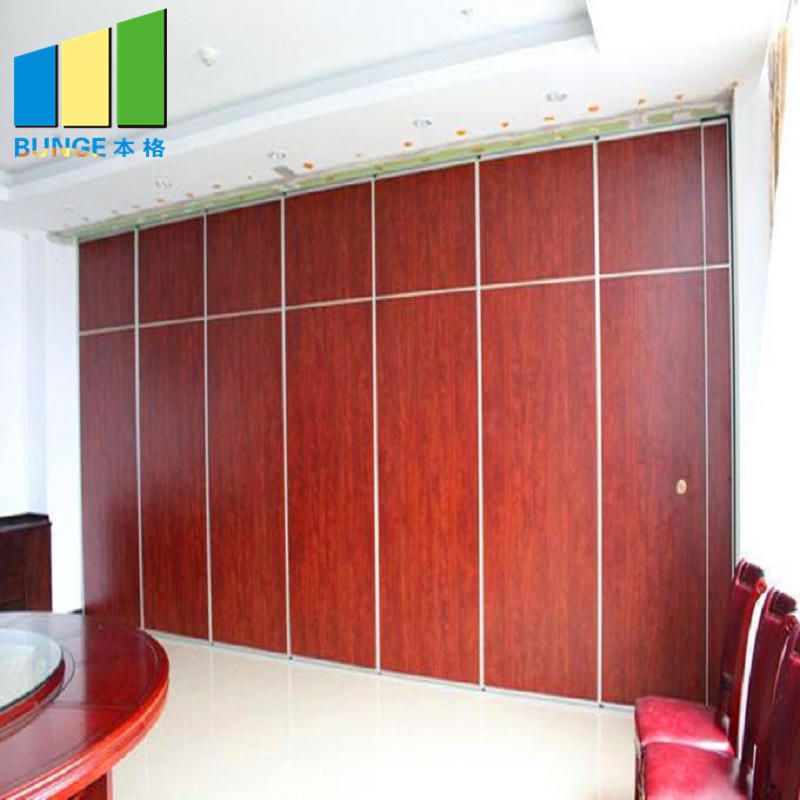 product-EBUNGE-Banquet Hall Sliding Folding Partition Panels Ballroom Movable Acoustic Partition Wal