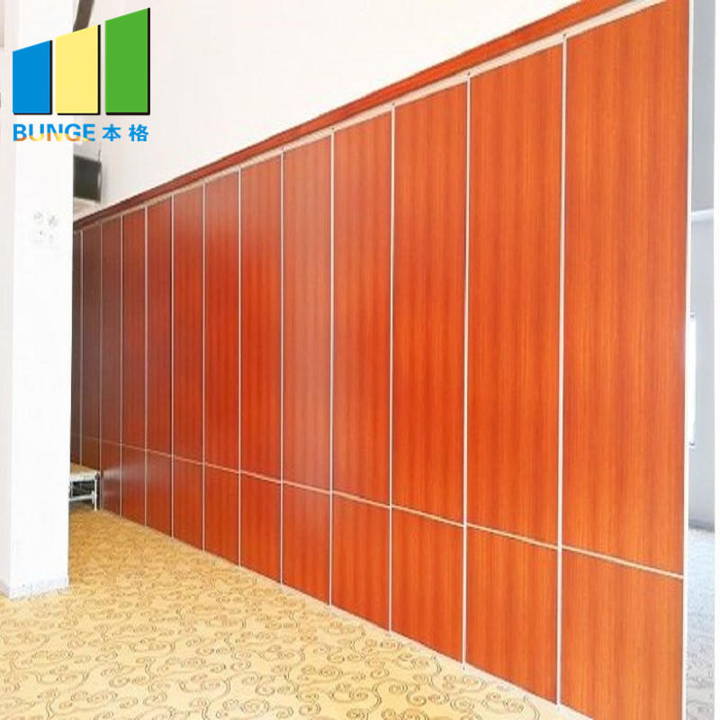 Banquet Hall Sliding Folding Partition Panels Ballroom Movable Acoustic Partition Walls