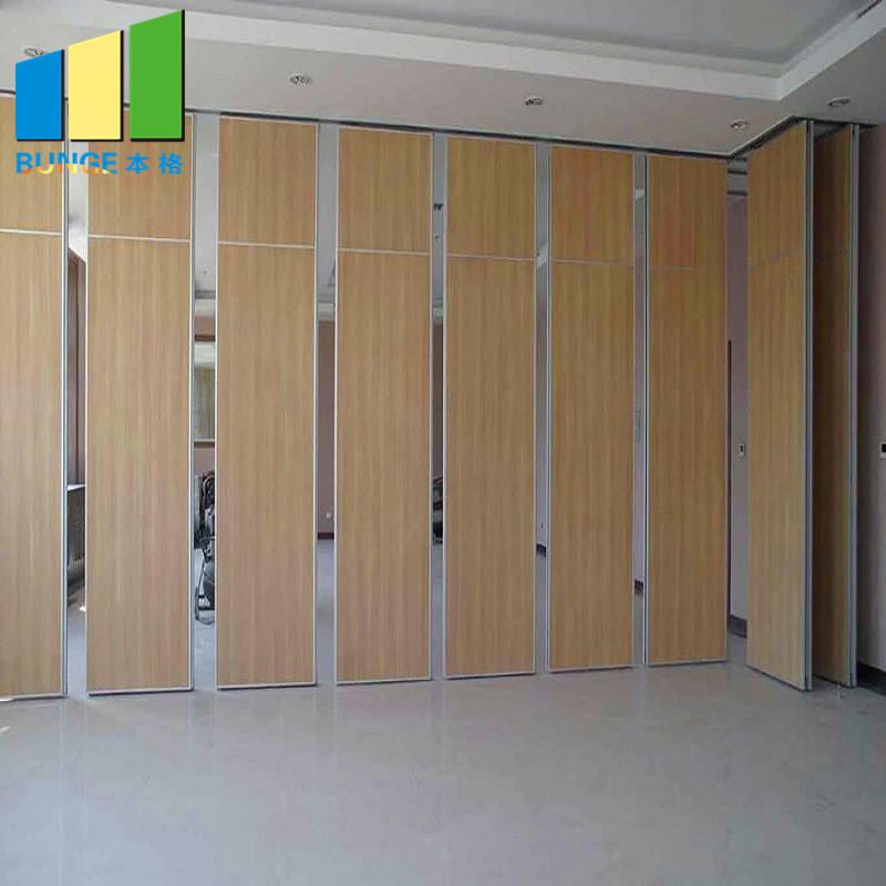 product-EBUNGE-Hotel Restaurant Sliding Acoustic Partition Wall Hanging Soundproof Movable Wall Par