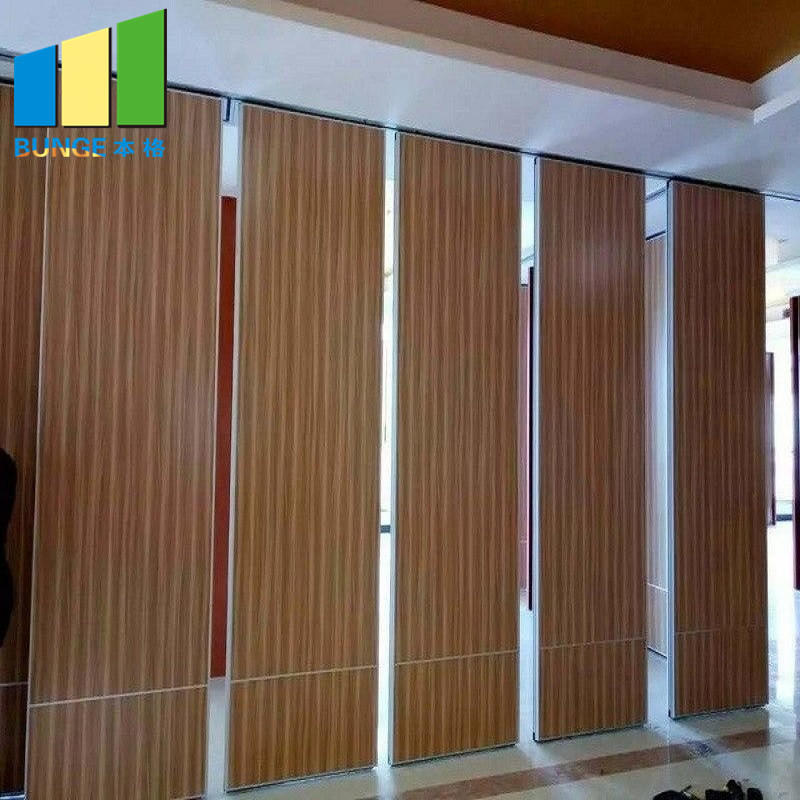 product-Hotel Restaurant Sliding Acoustic Partition Wall Hanging Soundproof Movable Wall Partitions-1