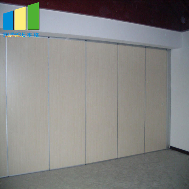 product-EBUNGE-Meeting Room Operable Accordion Sliding Partition Walls Movable Partition Wall Syste