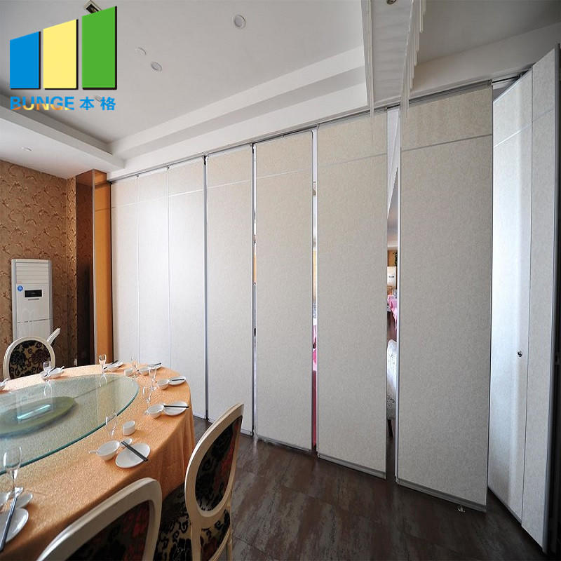 product-Meeting Room Operable Accordion Sliding Partition Walls Movable Partition Wall Systems for -1