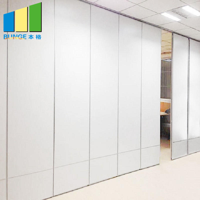 Meeting Room Operable Accordion Sliding Partition Walls / Movable Partition Wall Systems for Office