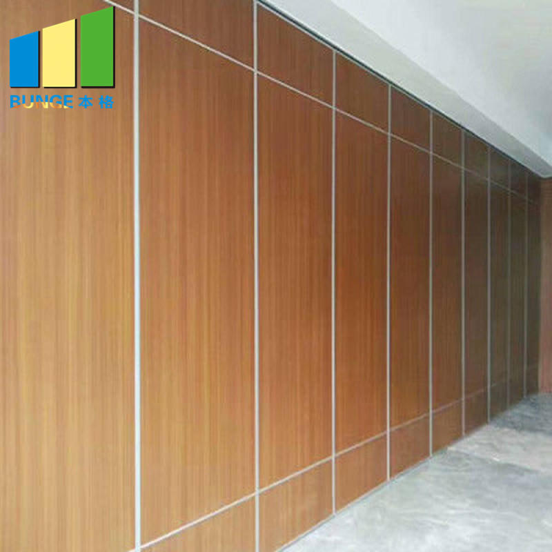 product-MDF Melamine Soundproof Movable Walls Office Sliding Acoustic Partitions for Conference Room-1