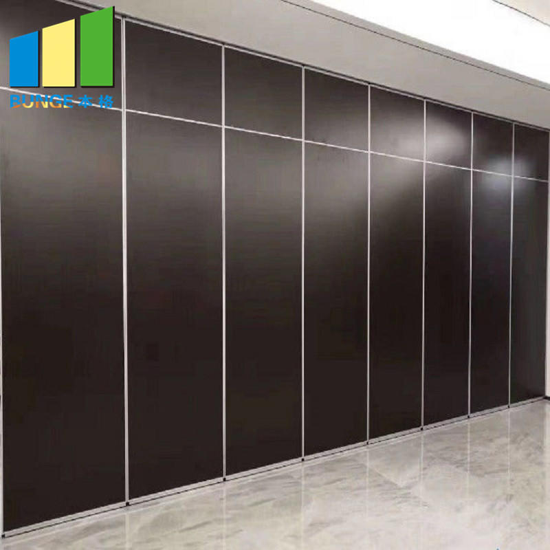 Function Room Operable Folding Partition Doors / Acoustic Movable Walls for Hotel
