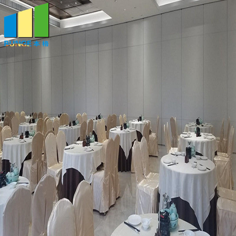Meeting Room Soundproof Operable Walls Acoustic Folding Sliding Movable Partitions for Office