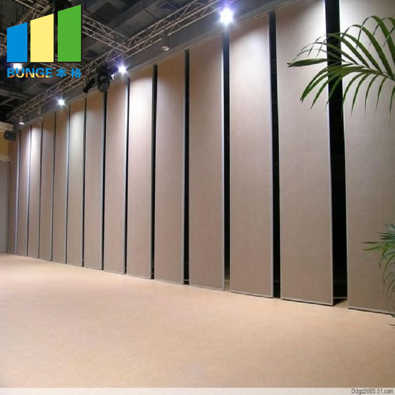 Sound Proofing Insulation Folding Partitions Acoustic Movable Walls for Conference Room-EBUNGE