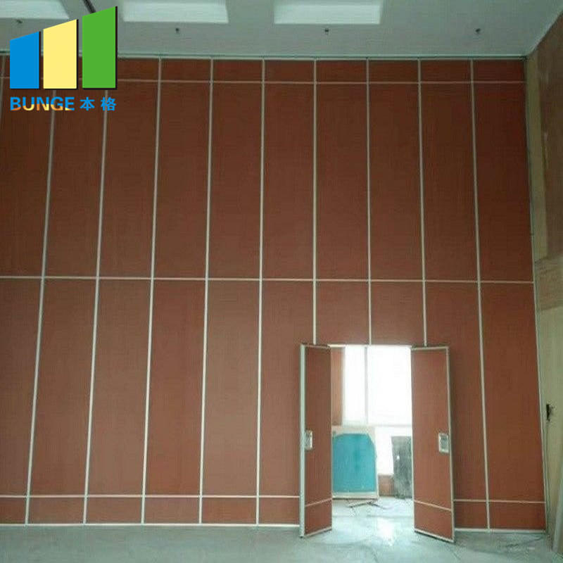 Conference Room Folding Partition Doors Acoustic Movable Walls Classroom Conference Room Folding Partition for Office-EBUNGE