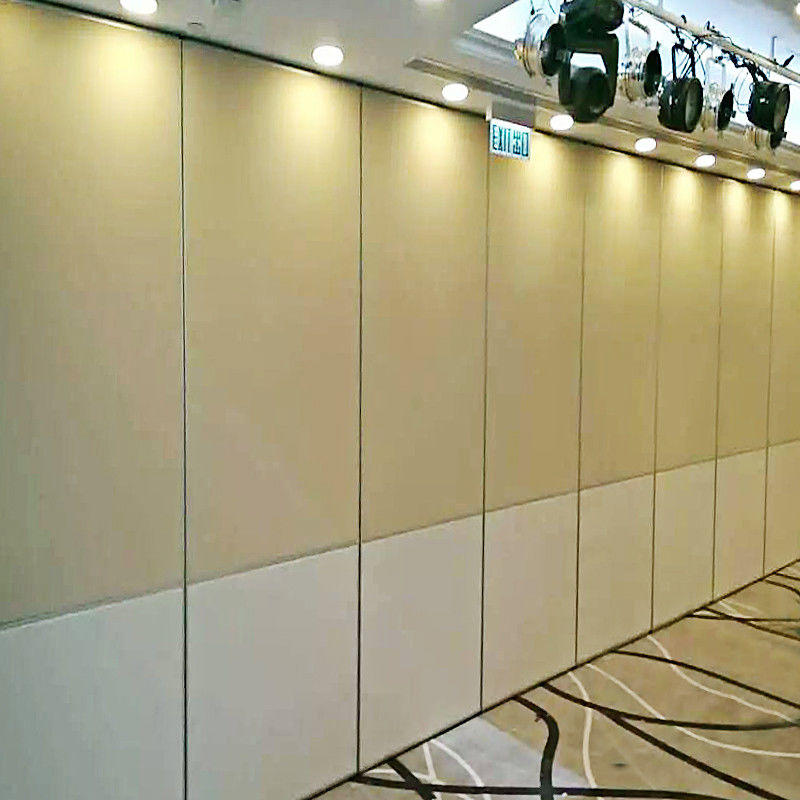 Ballroom Soundproof Sliding Folding Partition Panels Acoustic Movable Walls Cost for Restaurant