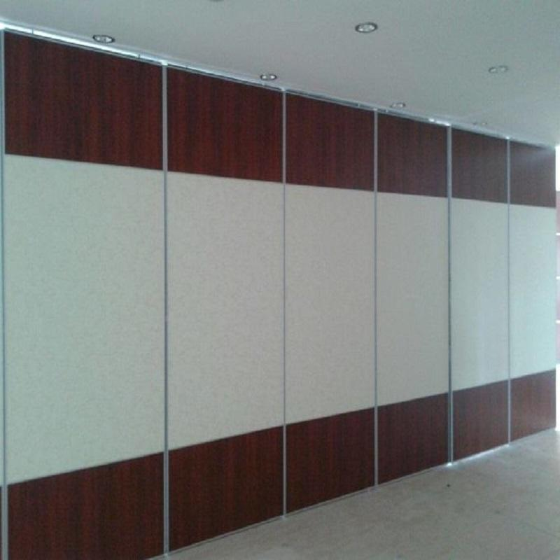 Conference Hall Folding Sliding Movable Door Partitions Banquet Acoustic Folding Room Partitions