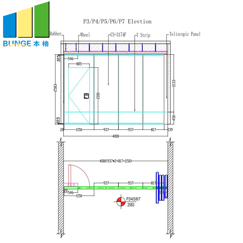 EBUNGE-Oem Movable Partition Manufacturer, Foldable Partition Doors