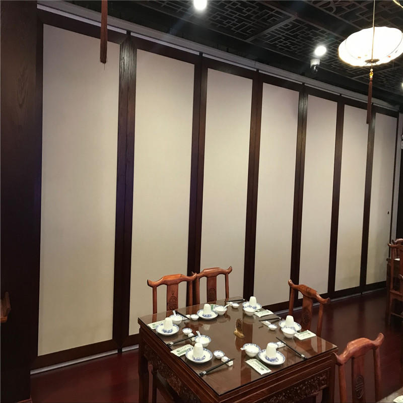 Sliding Door Movable Acoustic MDF Sound Proof Partition Walls for Conference Hall