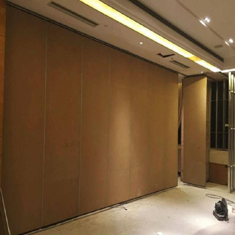 Ready to Ship Meeting Room Movable Sliding Folding Partitions Office Soundproof Partition Walls