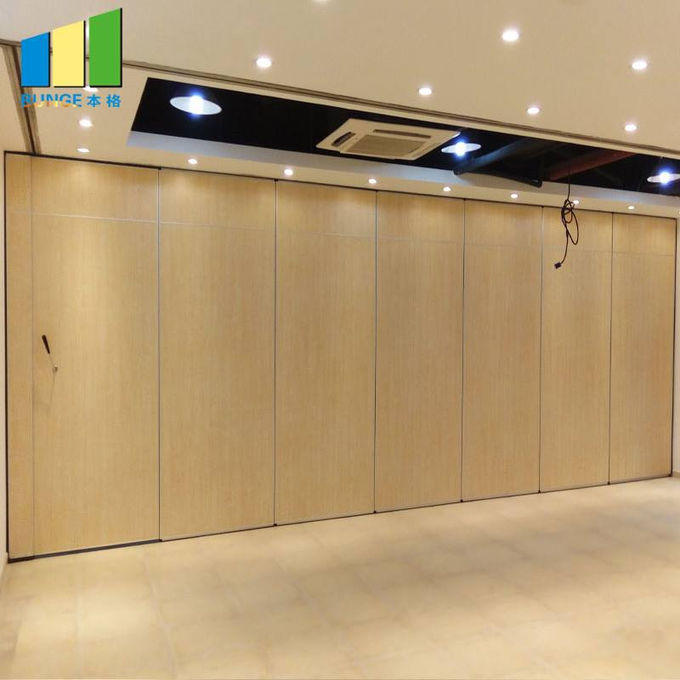 Ready to Ship Meeting Room Movable Sliding Folding Partitions Office Soundproof Partition Walls-EBUNGE