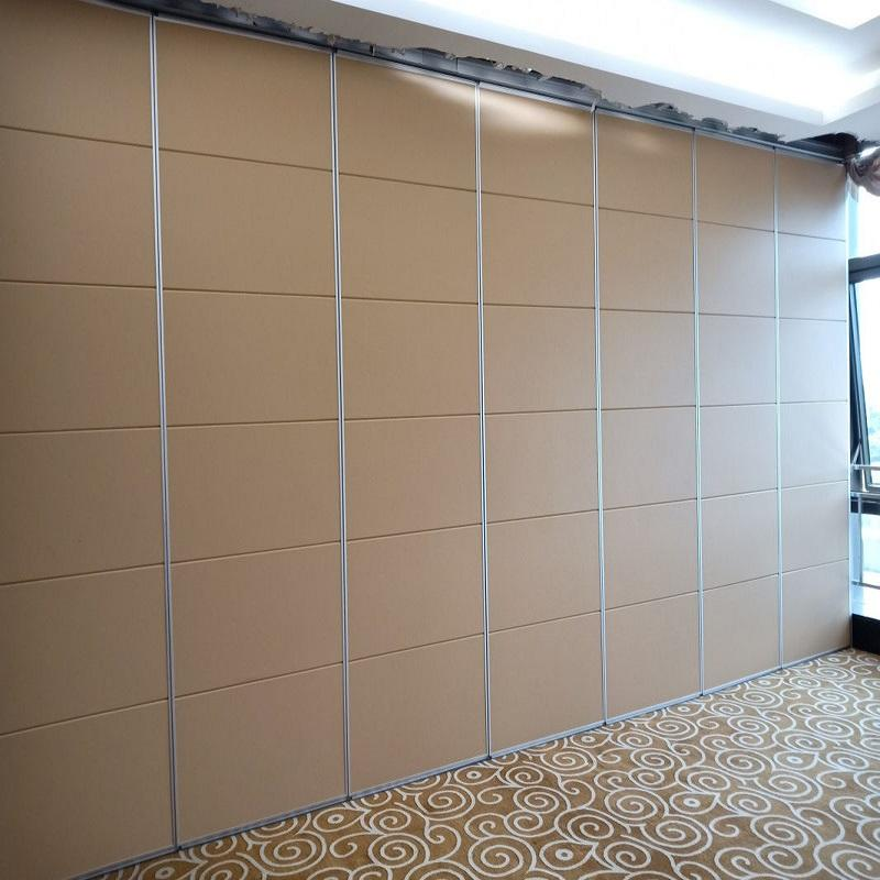 Meeting Room Movable Folding Partitions Aluminum Office Sliding Partition Walls