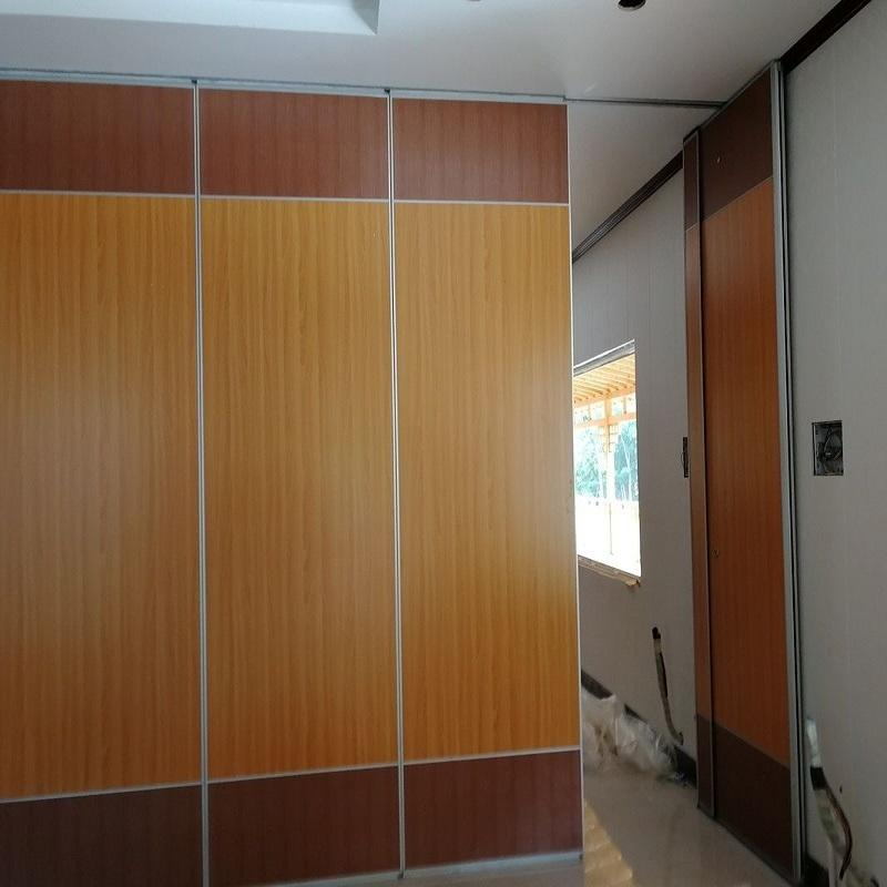 Ready to Ship Aluminum Movable Acoustic Wall Partitions Commercial Conference Room Folding Partitions