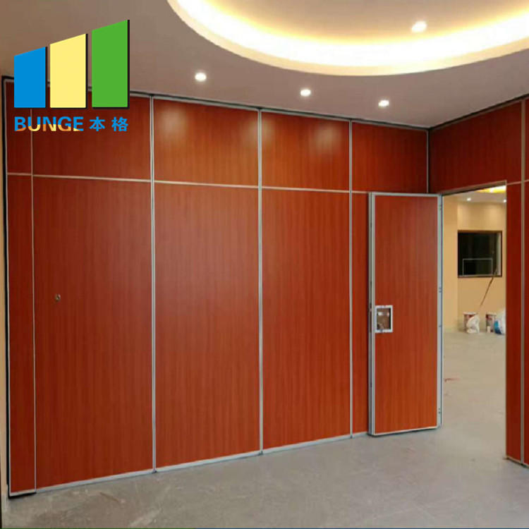 Gymnasium Classroom Folding Movable Partition Wall With Customized Color