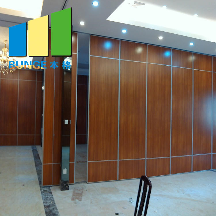 product-EBUNGE-Soundproof Room Divider Sliding Folding Movable Partitions Wall For Restaurant Hospit