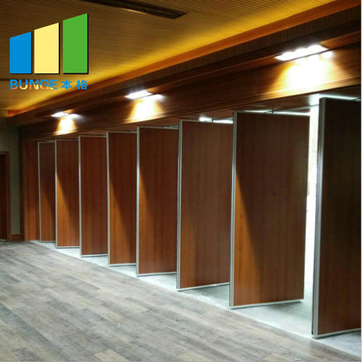 Eco Friendly Folding Exhibition Hall Flexible Movable Partition Walls For office