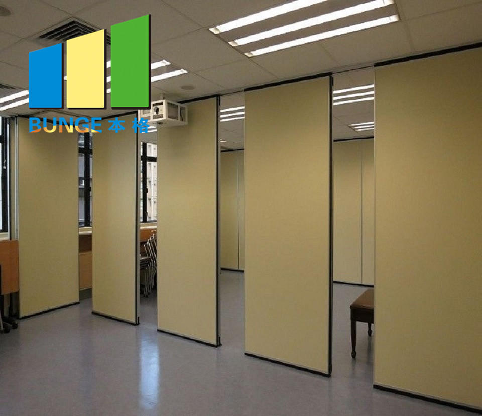Retractable Barrier Movable Partition Walls For Ballet School Dancing Room