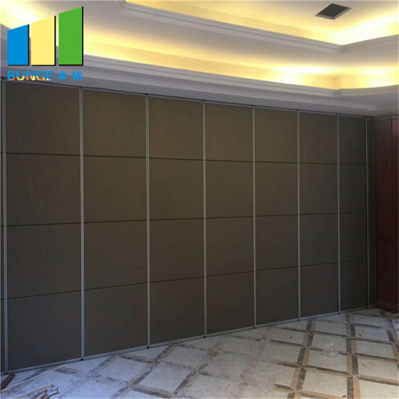 product-EBUNGE-China Manufacturer Soundproof Folding Door Partition Cheap Conference Room Movable Wa