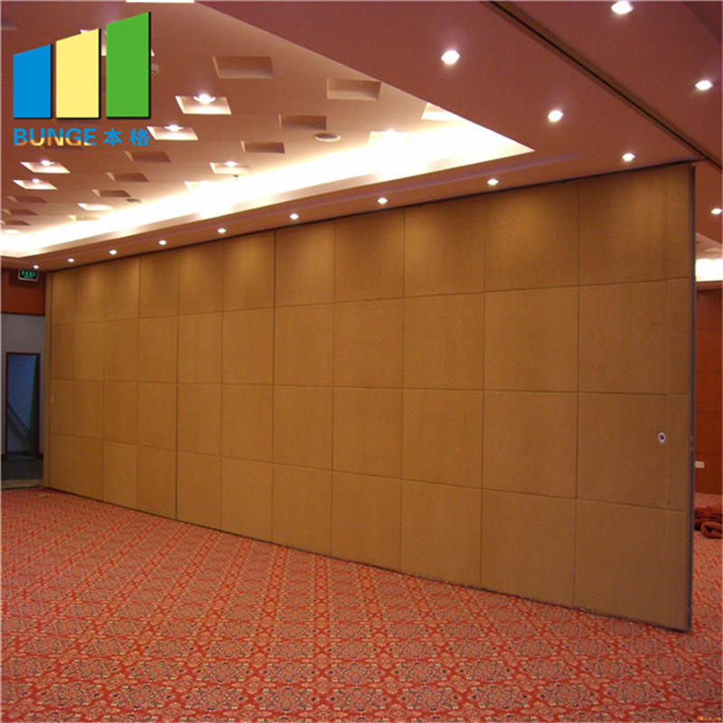 product-China Manufacturer Soundproof Folding Door Partition Cheap Conference Room Movable Wall Boar-1