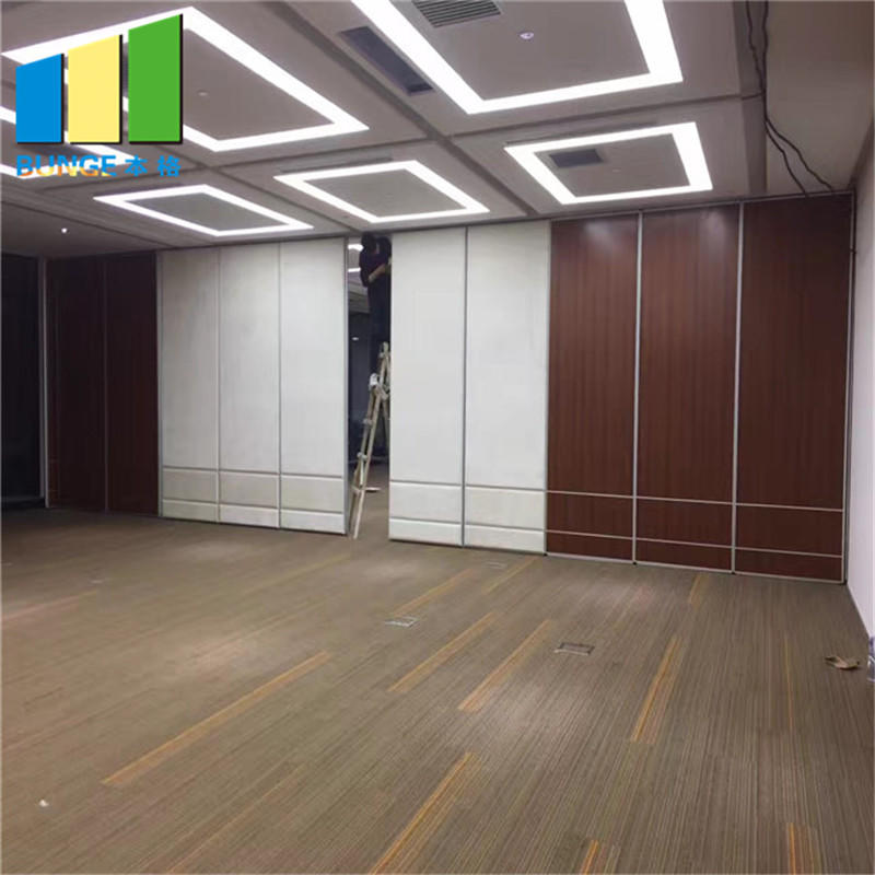 China Manufacturer Soundproof Folding Door Partition Cheap Conference Room Movable Wall Board