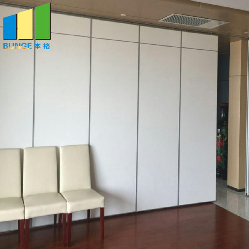 China Fireproof Flexible Soundproof Acoustic Movable Partition Wall for Office Meeting Room Church