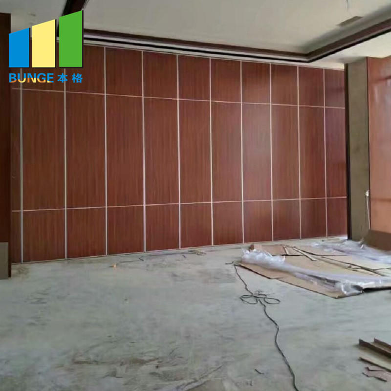 Customized Dance Room Removable Partition Acoustic Movable Partition Wall for Training Rooms