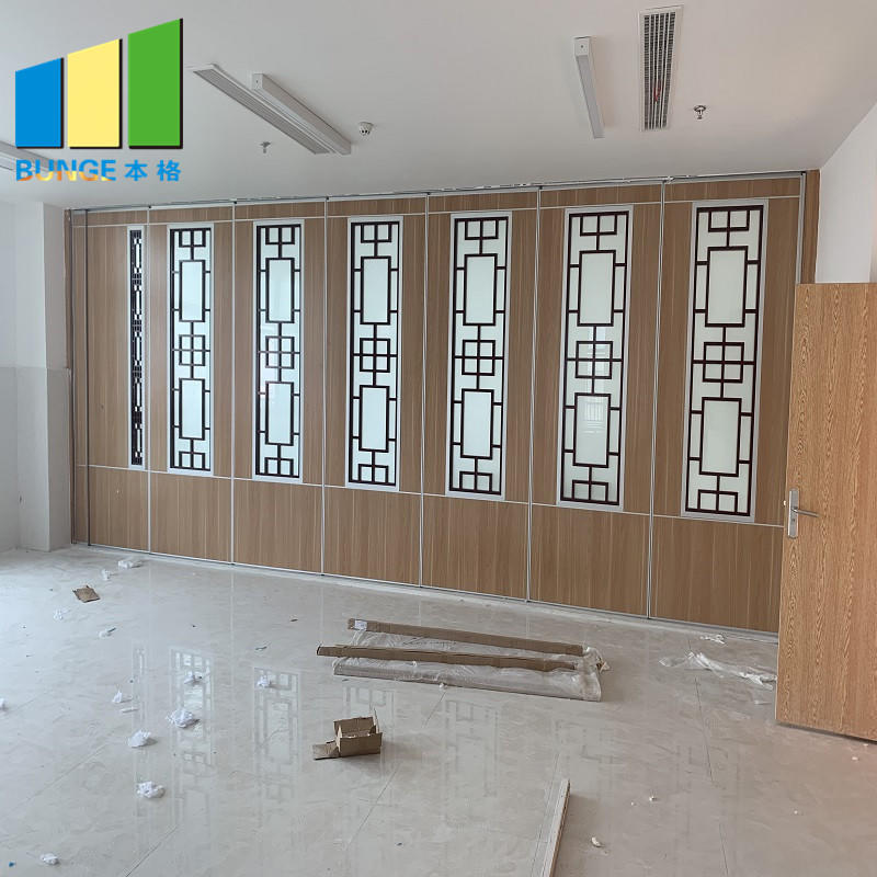 Commercial Restaurant Folding Mobile Wall Partition Sliding Acoustic Movable Partition Manufacturer